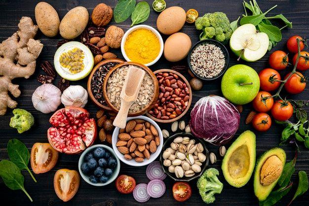 alimentos sanos para evitar la vejez