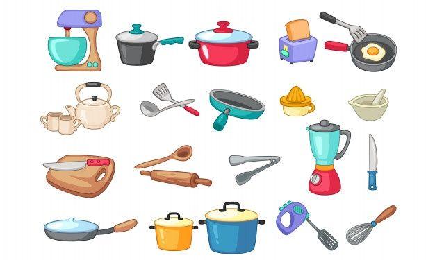 Los utensilios que debe tener toda cocina